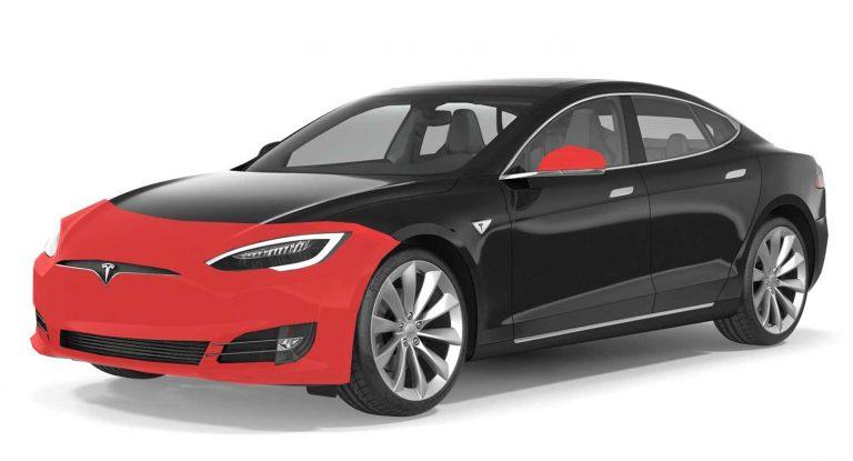my Tesla Model S clear bra ppf xpel