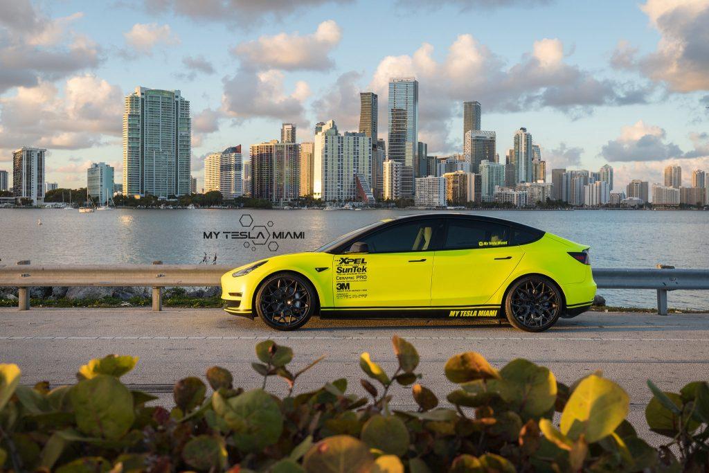 Miami Tesla Auto Detailing