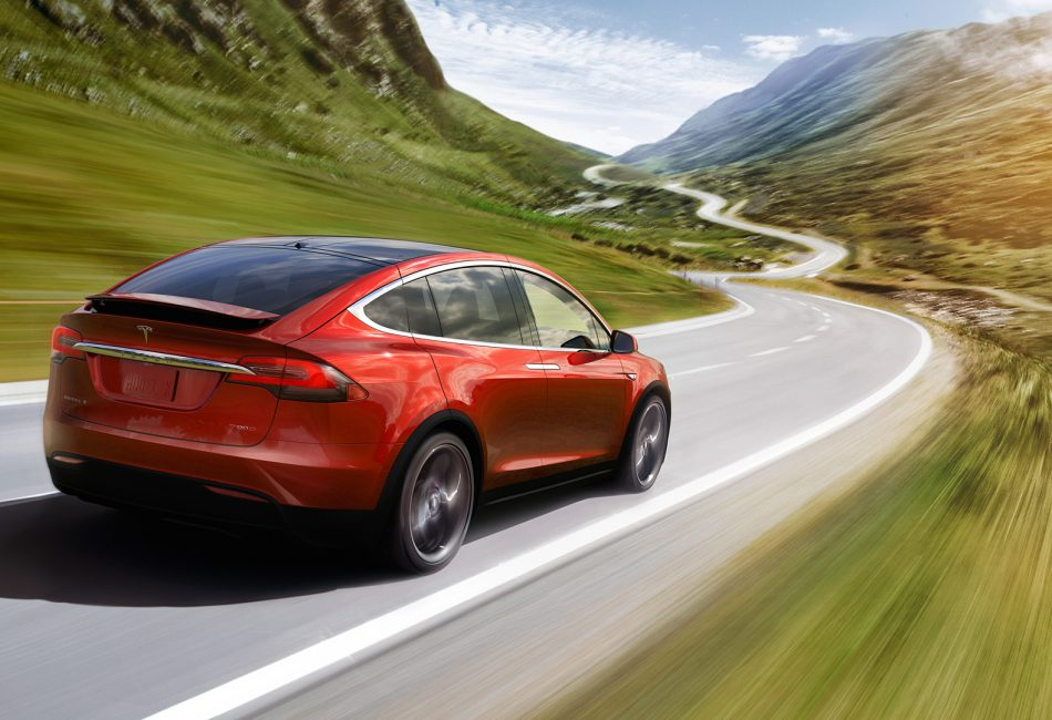 Miami Tesla model x windows tinting