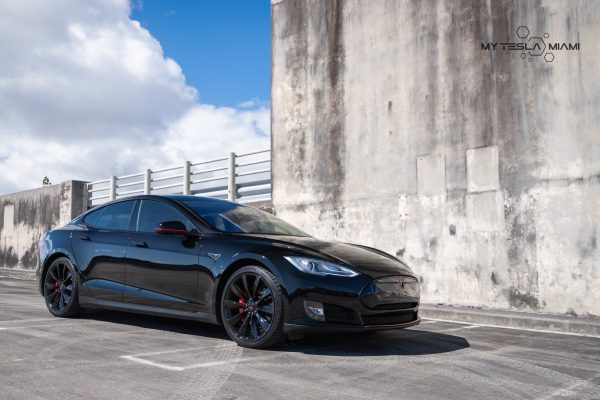 my tesla miami model s car wraps | powder coating wheels near me