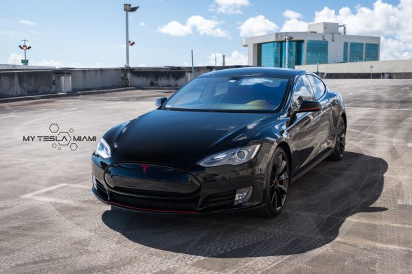 My tesla miami ceramic pro model s