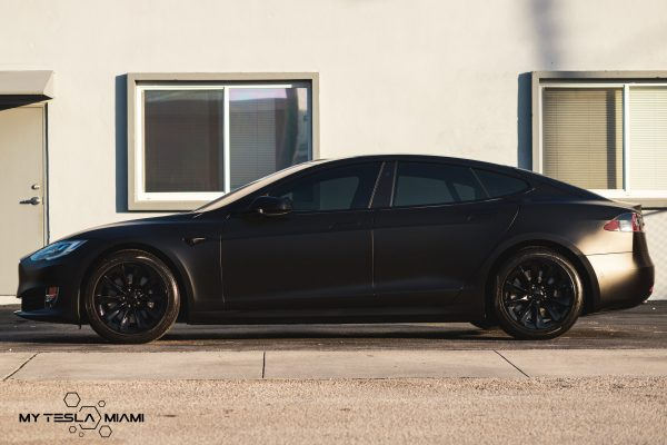 tesla model s wrap miami full matte blackwindows tint wheel coating black miami near me .jpg